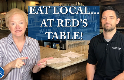 Episode 33- Eat Local... at Red's Table