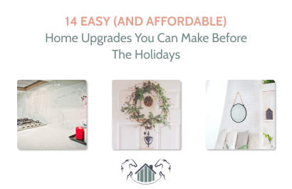 14 Easy (and Affordable) Home Upgrades You Can Do Before the Holidays