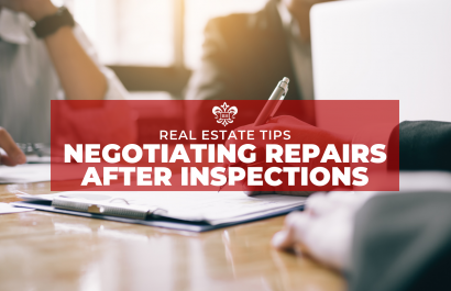 Negotiating Repairs After Inspections | Real Estate Tips || Bell Henderson Team