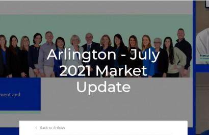 Arlington 2021 Market Update