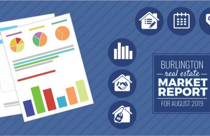 Burlington Market Report for August 2019