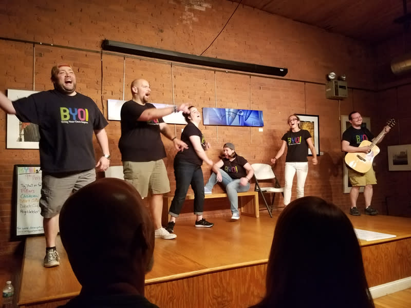 Bring Your Own Improv's Last Night Comedy Show
