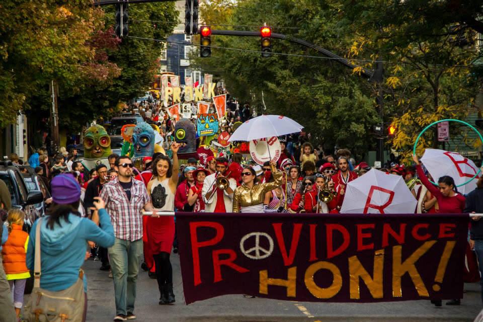 PRONK! Providence Honk Festival