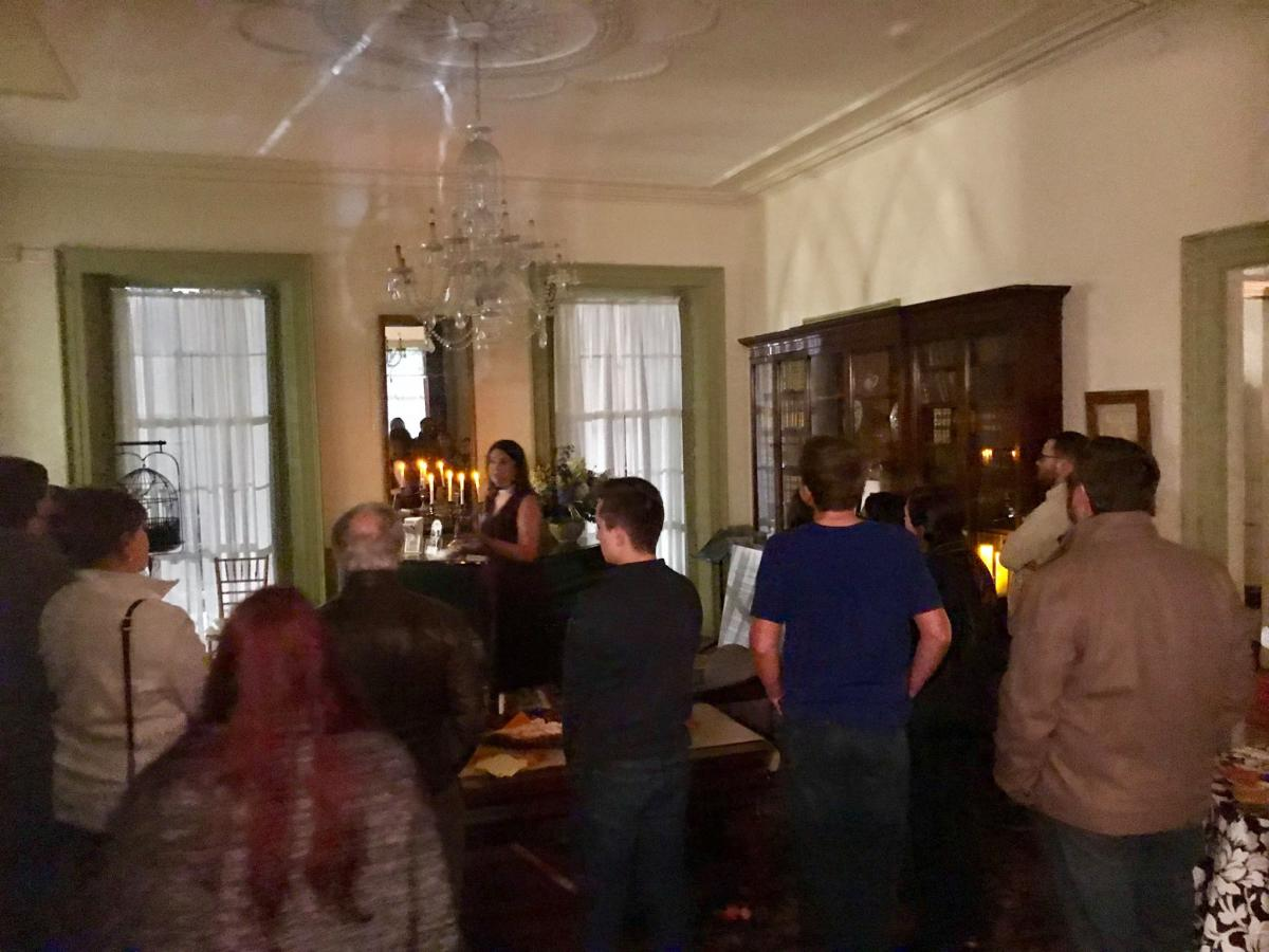 Hauntings of Linden Place Guided Tours