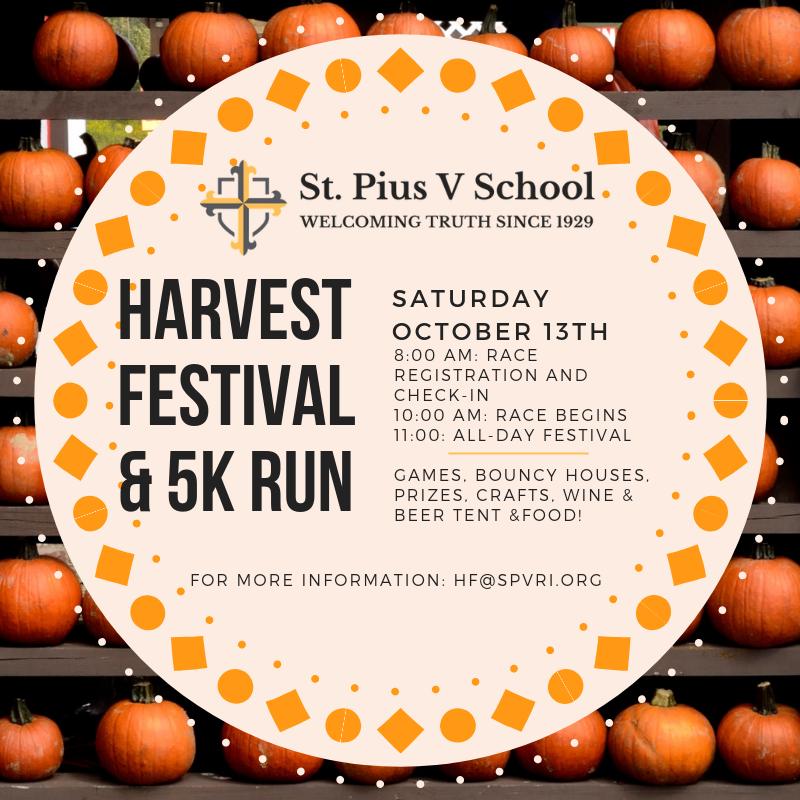 Harvest Festival & 5K Run/Walk