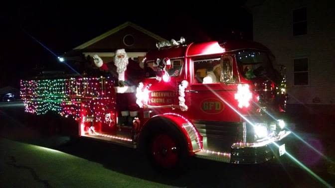 Smithfield's All Lit Up Christmas Parade