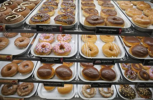 The Krispy Kreme chain is offering one free glazed doughnut a day to anyone who presents proof of Covid-19 vaccination.