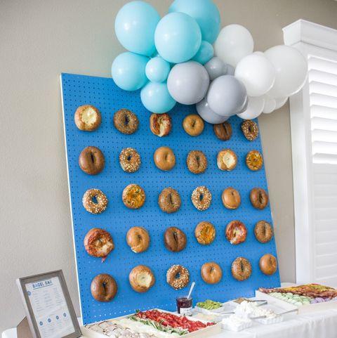 Bagel Board - Graduation Party Ideas