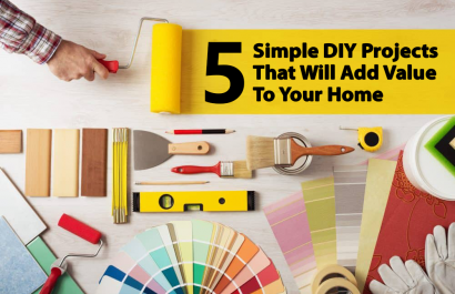 5 Simple DIY Projects That Will Add Value To Your Home