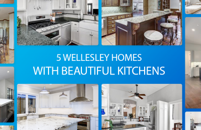 5 Wellesley Homes With Beautiful Kitchens