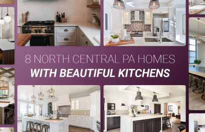 8 North Central PA Homes With Beautiful Kitchens