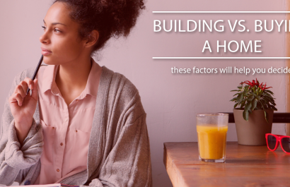 Building vs. Buying A Home: These Factors Should Help You Decide