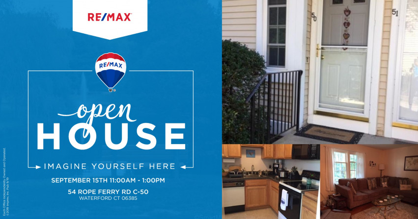 Open House| 54 Rope Ferry Rd C-50 Waterford $149,999
