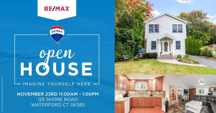 Open House| 125 Shore Road Waterford $289,900