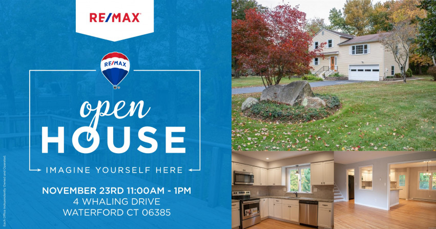 Open House| 4 Whaling Drive, Waterford $324,900