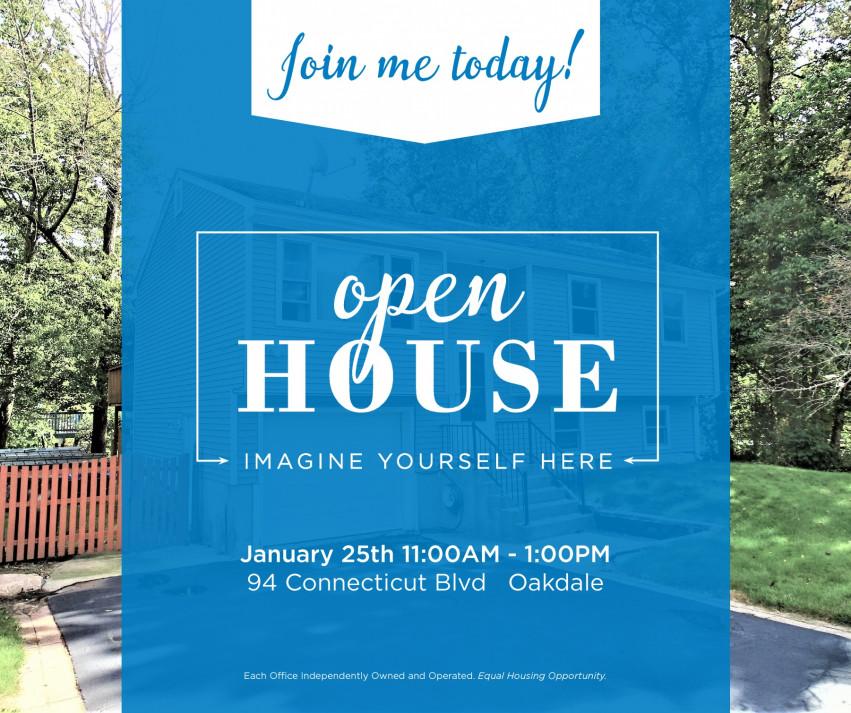 Open House| 94 Connecticut Blvd Oakdale $239,900