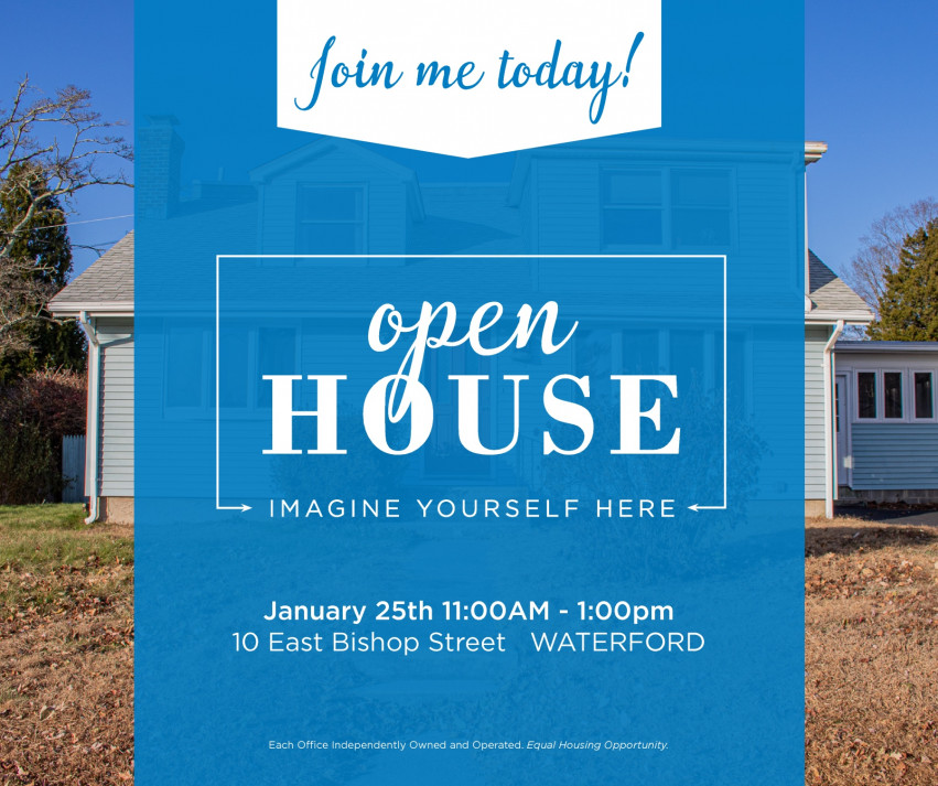 Open House| 10 E. Bishop Street Waterford $289,900