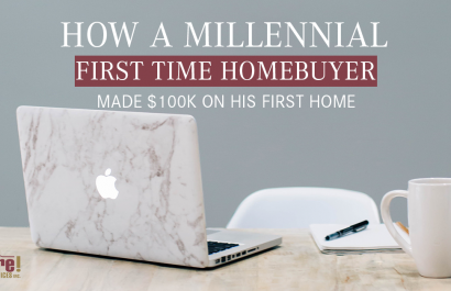 How A Millennial First-Time Homebuyer Made $100K