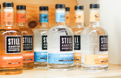 Bottoms Up!  Get to know our local favorite Still Austin Whiskey Co.