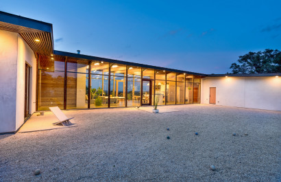 Chic and modern home in Paleface Ranch offers unforgettable views of the Texas Hill Country