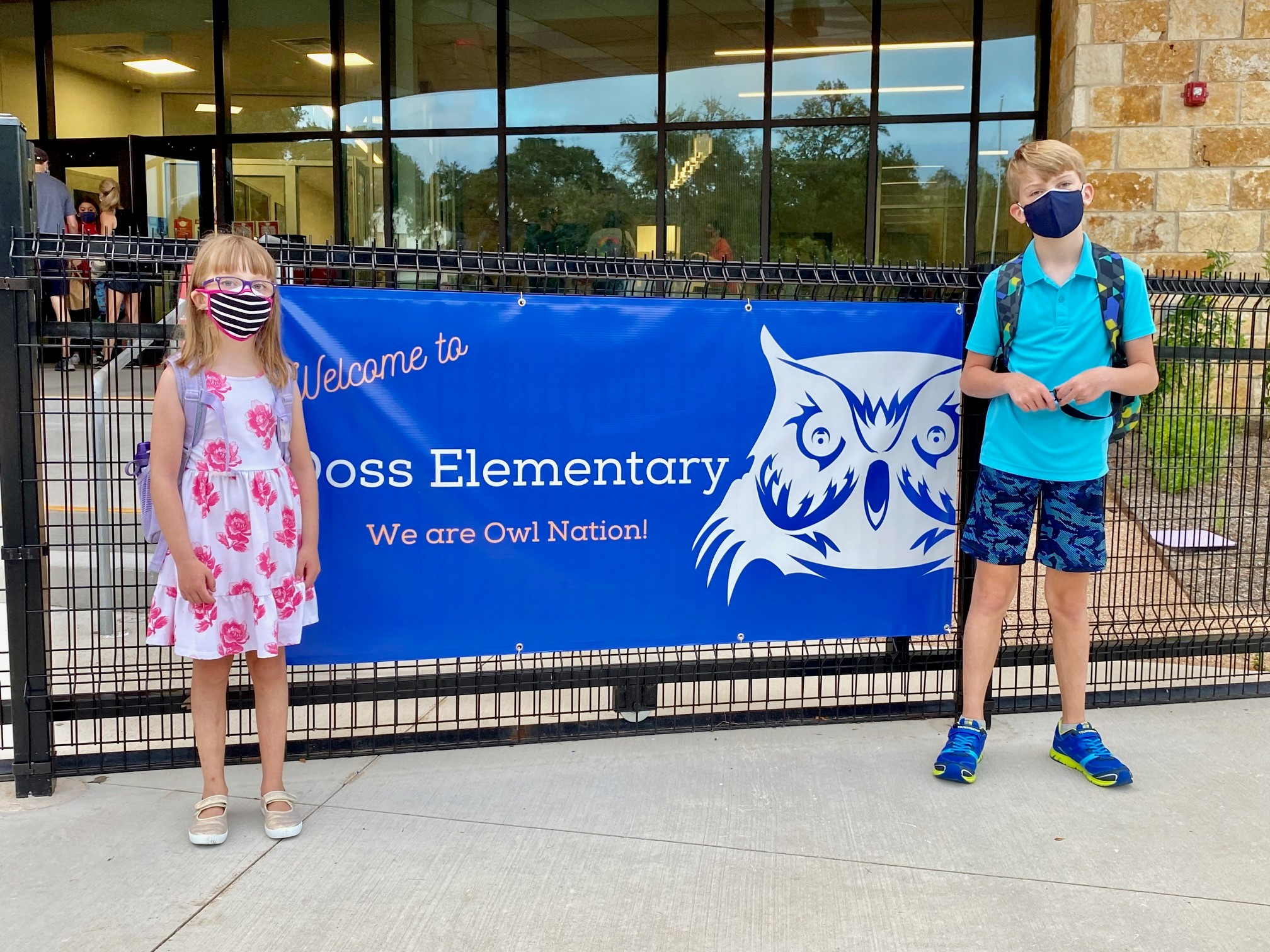 Back to school at Doss Elementary in Austin ISD