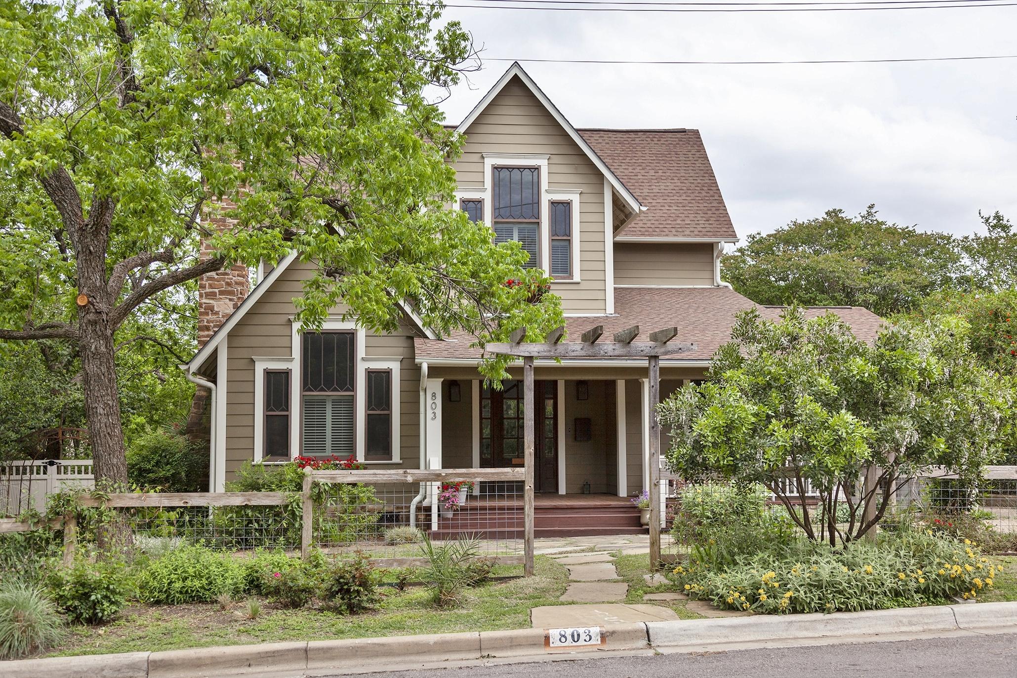 Zilker neighborhood in Austin, Texas