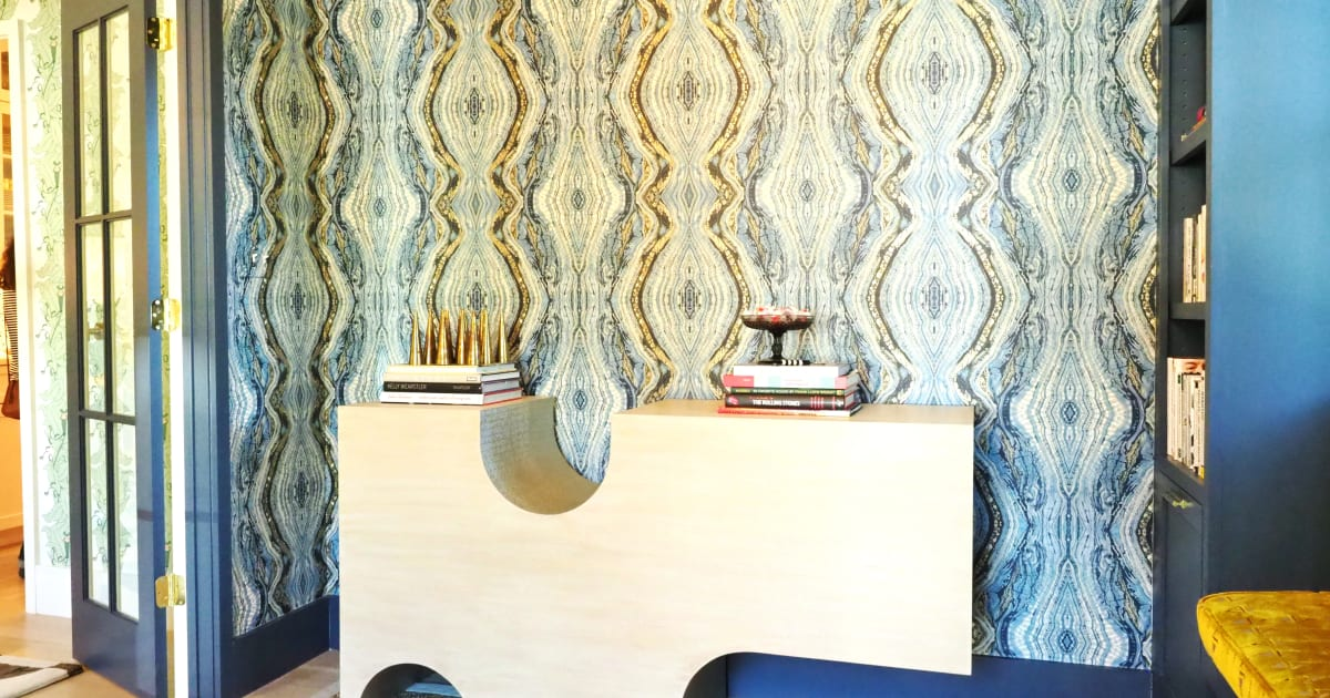 The wallpaper design trend is taking Austin, Texas by storm