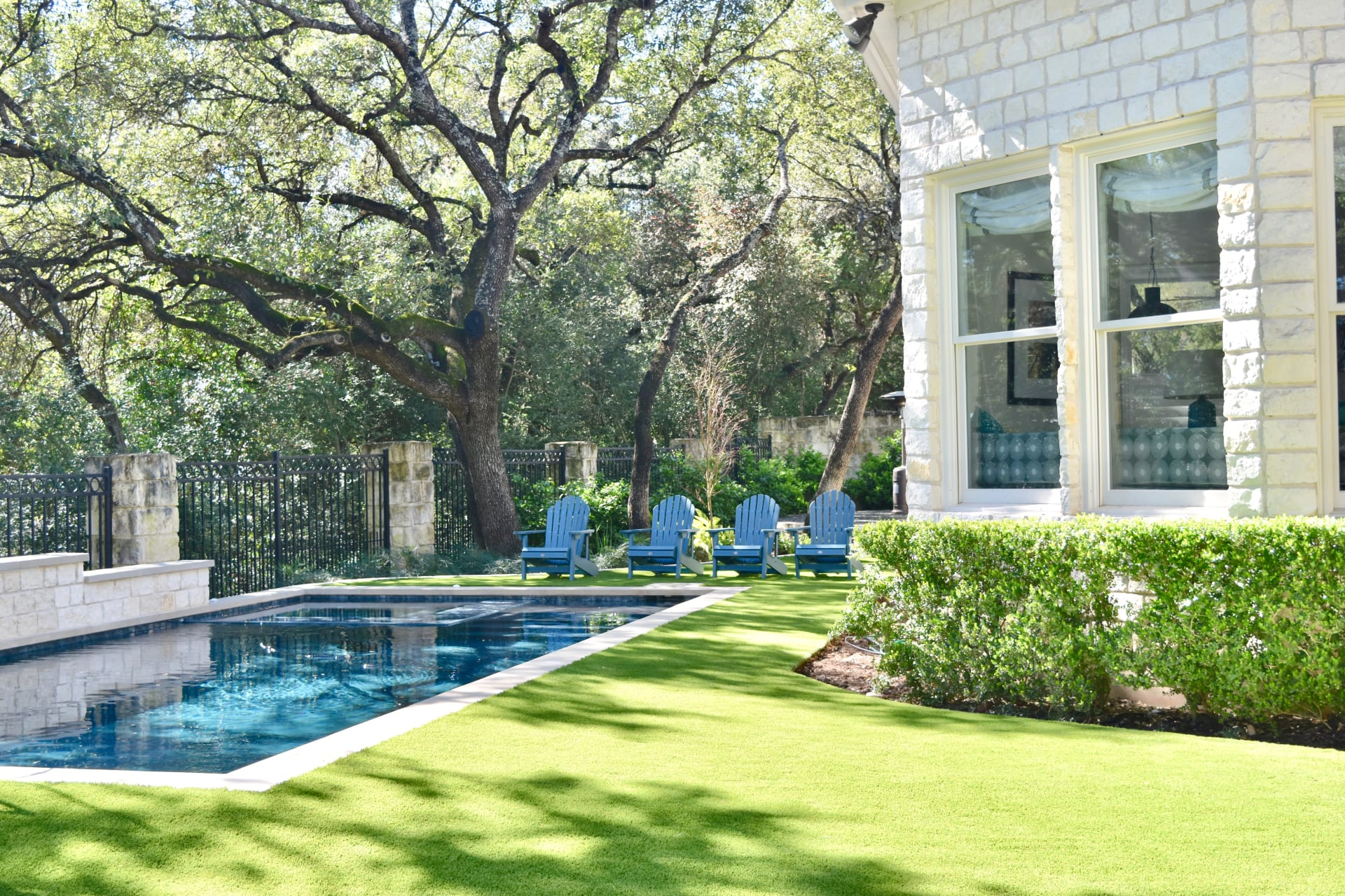 A low maintenance solution to get your Austin home's lawn looking amazing