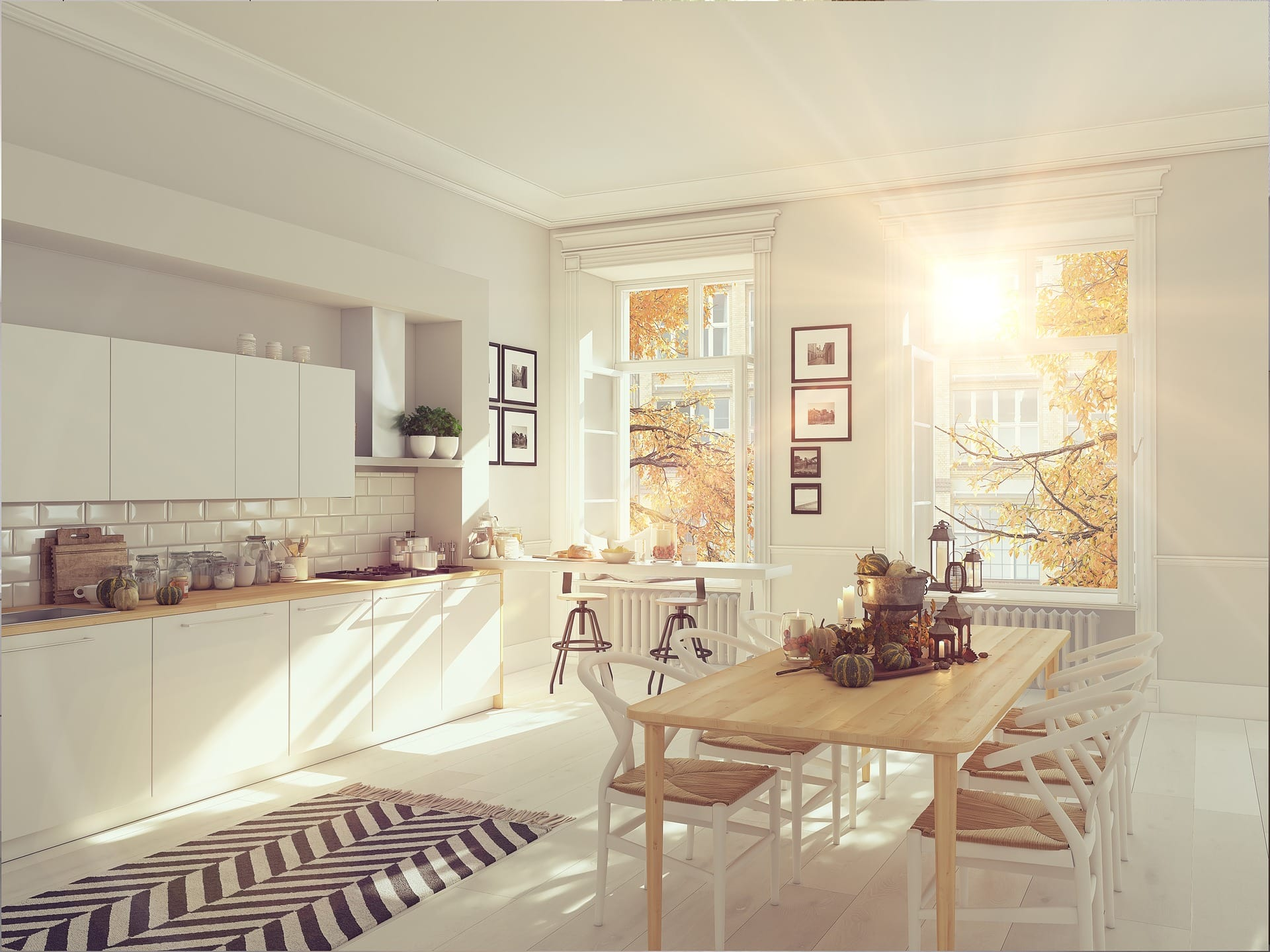 kitchen decors for fall