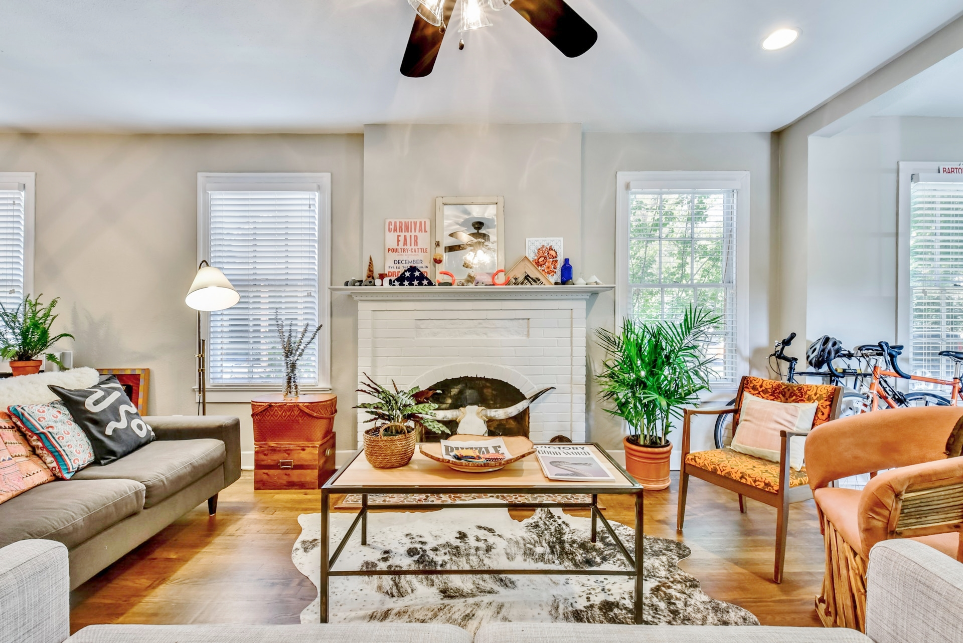 Central Austin home interiors