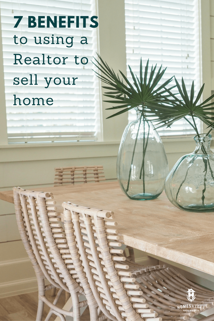 7 benefits you get when you use a Realtor to sell your home
