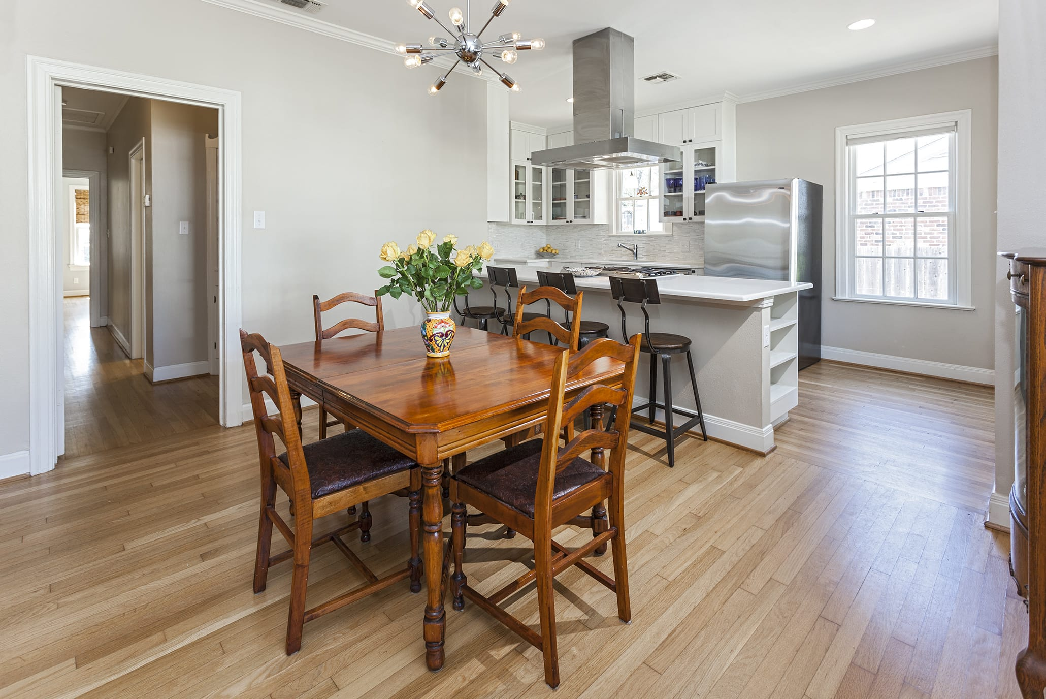upgraded kitchen in 1611 Westover Rd