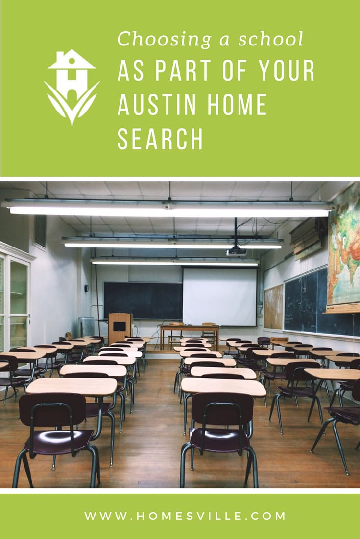 Choosing a school as part of your Austin home search