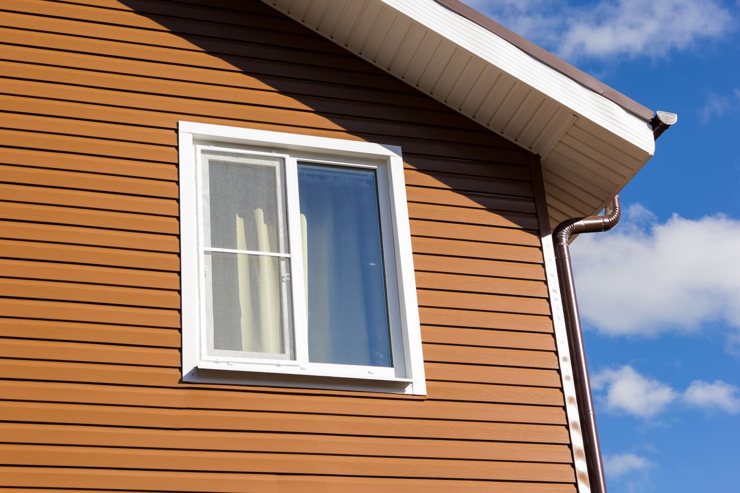 Replace the siding
