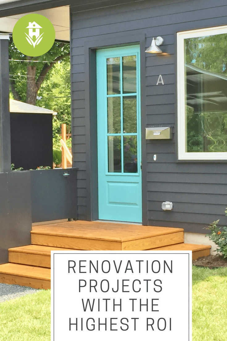 Renovation projects with the highest ROI