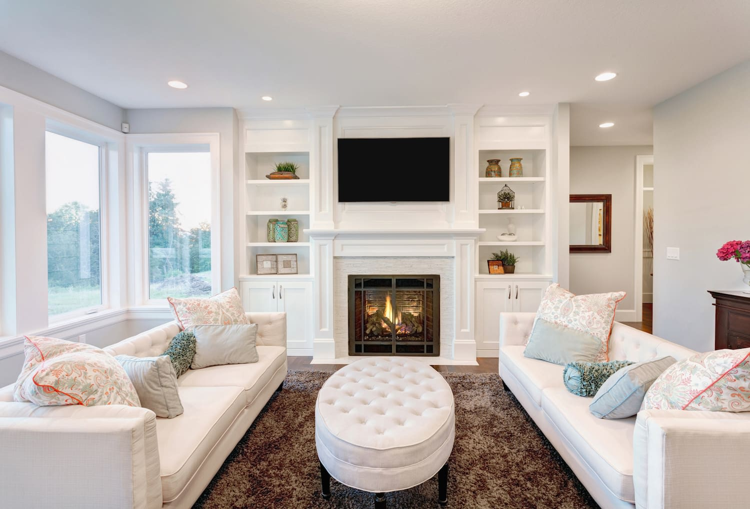 Fireplaces also have a high ROI in colder climates