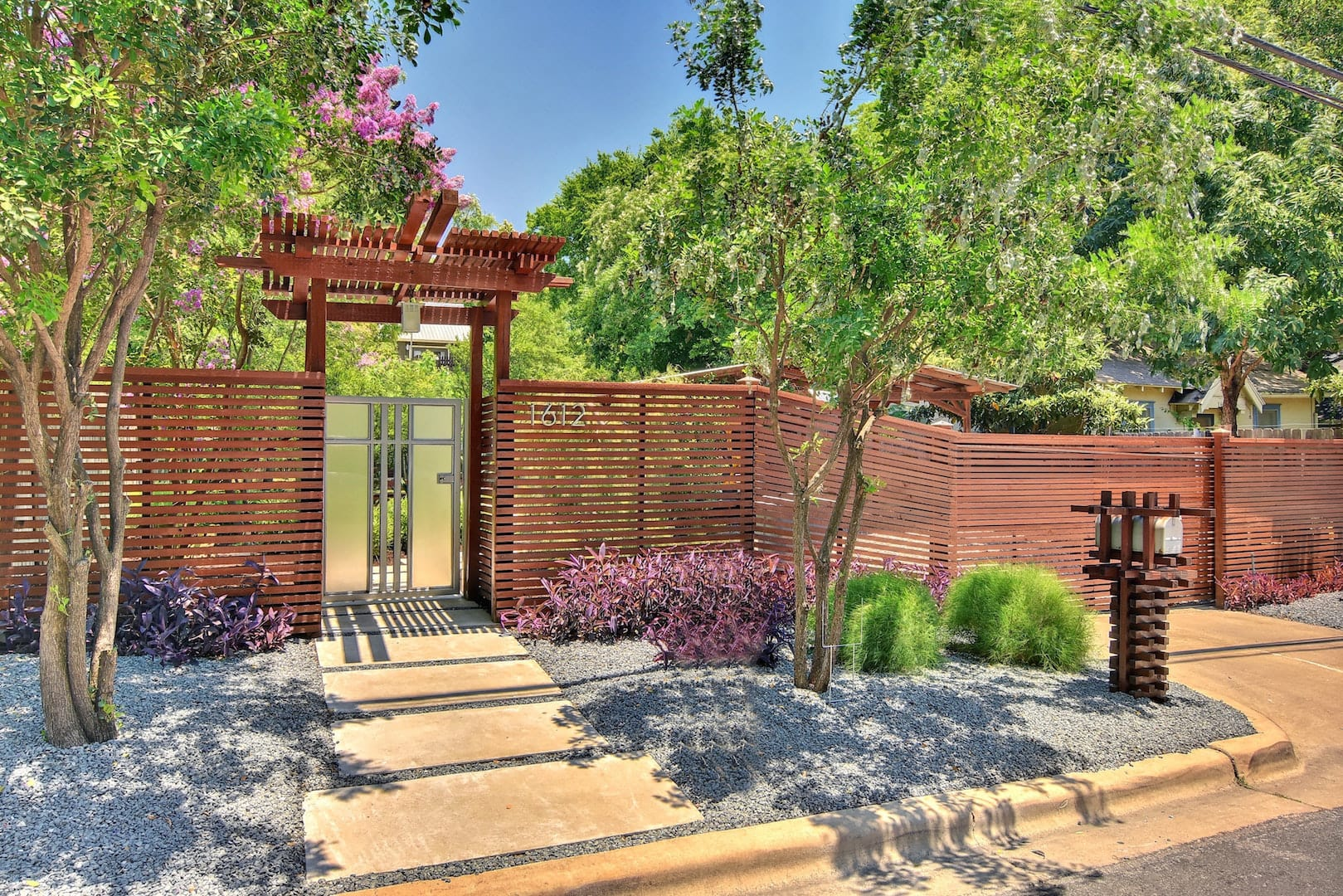 Invest in landscaping to update your home's curb appeal