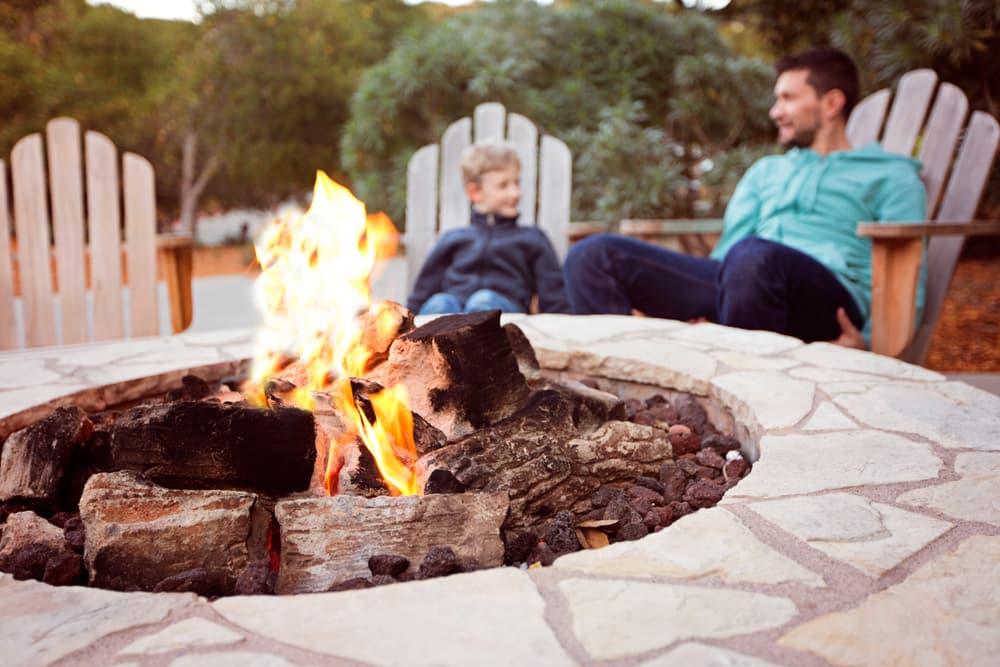 Build a fire pit