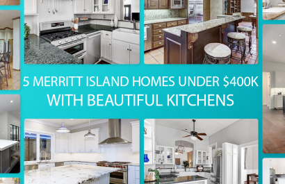 5 Merritt Island Homes With Beautiful Kitchens Under $400K
