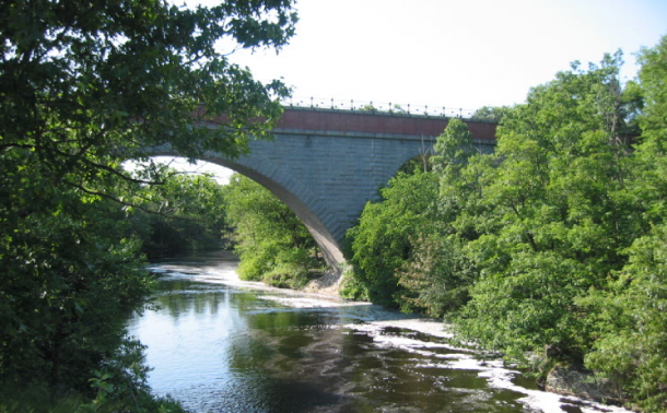 Hemlock Gorge and Echo Bridge