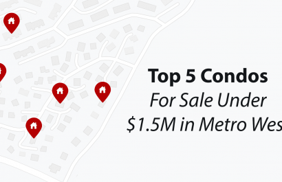 Top 5 Condos For Sale Under $1.5M In Metro West