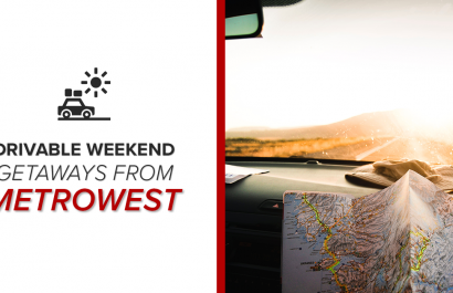 Drivable Weekend Getaways From MetroWest Boston, MA