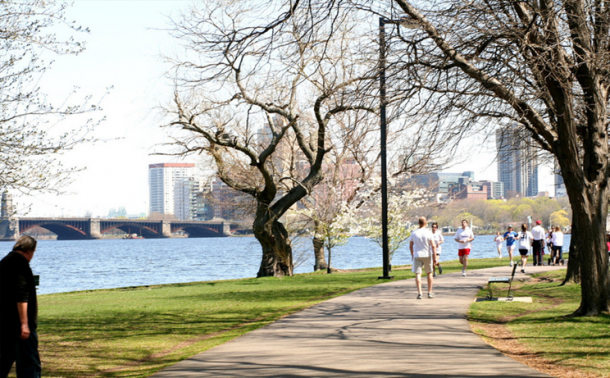 Charles River Walk and Bike Path