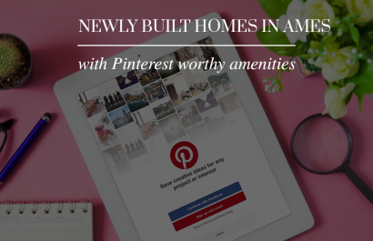 8 new construction (Pinterest worthy) homes in Ames built by Happe Homes