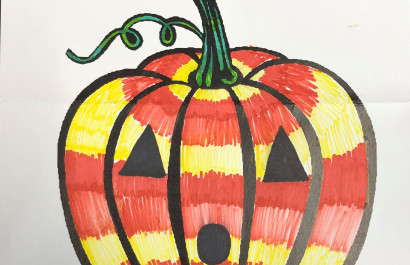 Nestor And Michelle's 2019 Pumpkin Coloring Contest