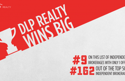 DLP Realty Wins Several Awards for The REAL Trends 500