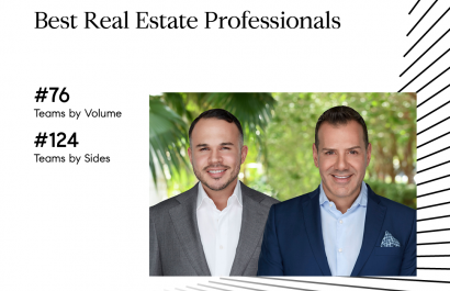Honored To Be Ranked On The Real Trends Best Real Estate Professionals List 2019