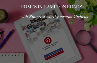 Pinterest worthy custom kitchens, homes for sale