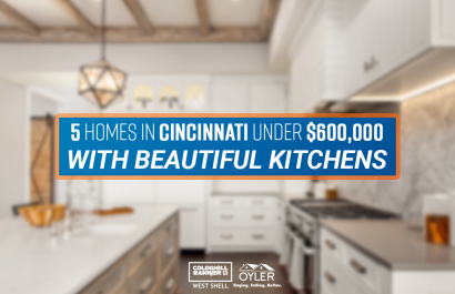 5 Homes in Cincinnati With Beautiful Kitchens Under $600K