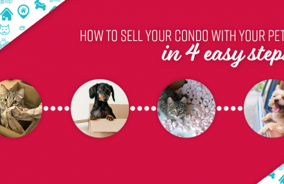 Take away the stress of selling your condo as a pet owner.